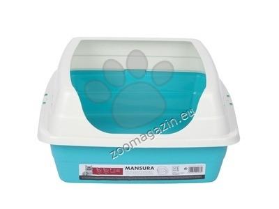 M-Pets Mansura Cat Litter Tray with Rim - котешка тоалетна с висок борд 50 / 40 см