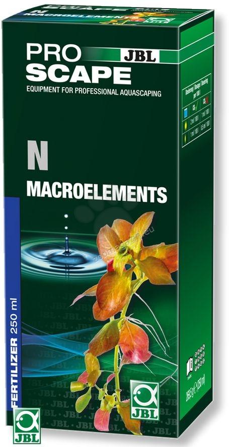 JBL ProScape N + Microelements - основна тор с азотни фосфати, и пълните микроелементи, необходими за растенията 250 мл.