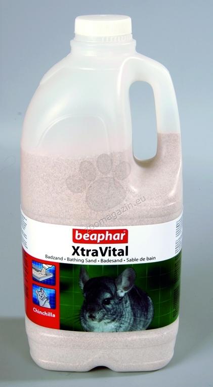 Beaphar Xtra Vital - пясък за баня на чинчили 2 литра