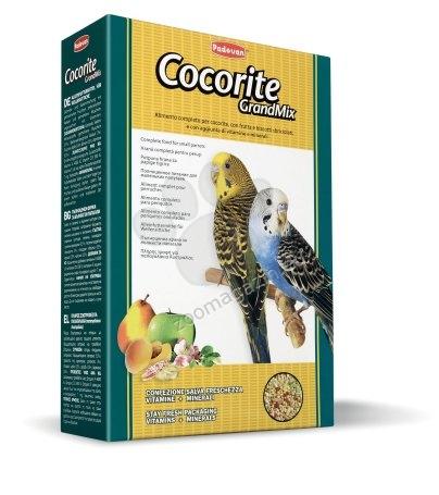 Padovan Grandmix cocorite - пълноценна храна за вълнисти папагали с плодове 1 кг.