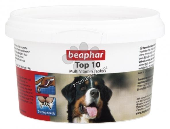 Beaphar TOP 10 Multi Vitamin Tabs - витамини, минерали и микроелементи 750 броя