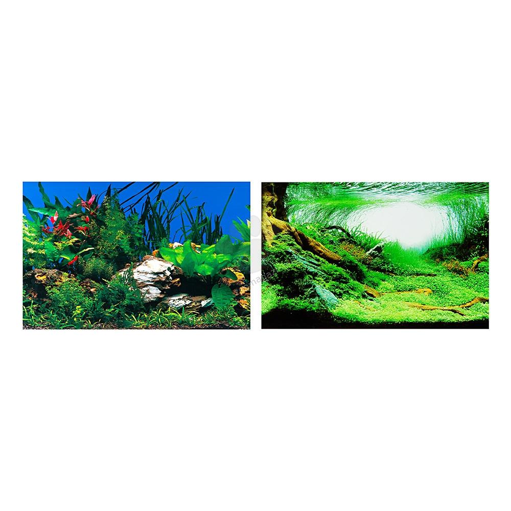 Ferplast - blu9053 - двулицев фон за аквариум 120 / 50 cm.
