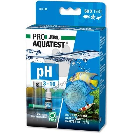 JBL Proaquatest pH 3 - 10 - тест за измерване ph на водата, стойности от 3 до 10 50 теста