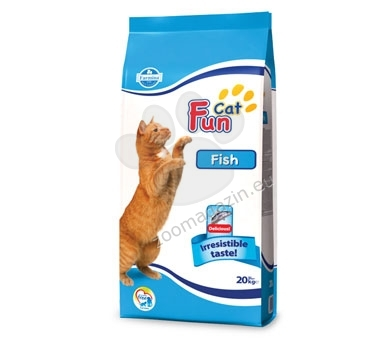 Farmina Fun Cat Fish 27/10 - пълноценна храна с риба, за котки над 12 месеца 20 кг.