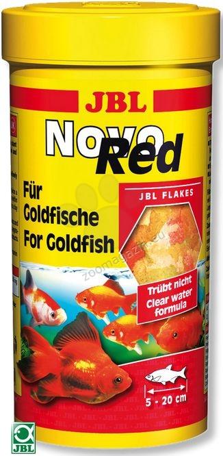 JBL NovoRed - основна храна за златни рибки 250 мл.
