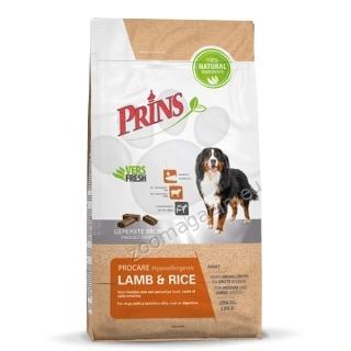 Prins ProCare Lamb & Rice Hypoallergic - препоръчва се за кучета от всички породи с чувствителна кожа и козина 3 кг.