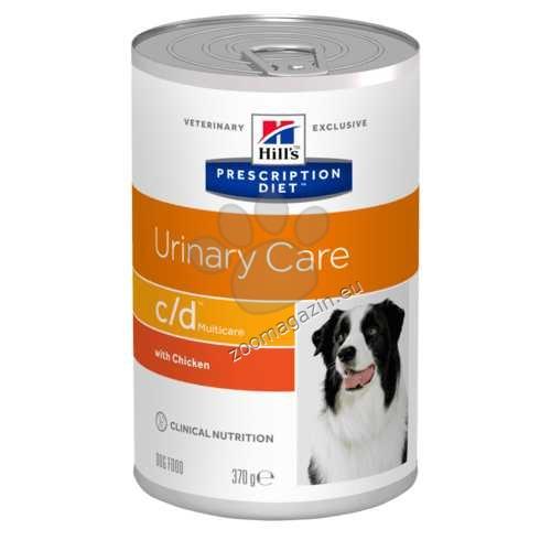 Hills Prescription Diet c/d - оксалатни уролити при кучетата 370 гр.
