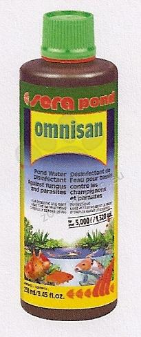 Sera - Omnisan - срещу гъбички и паразити 250 мл.