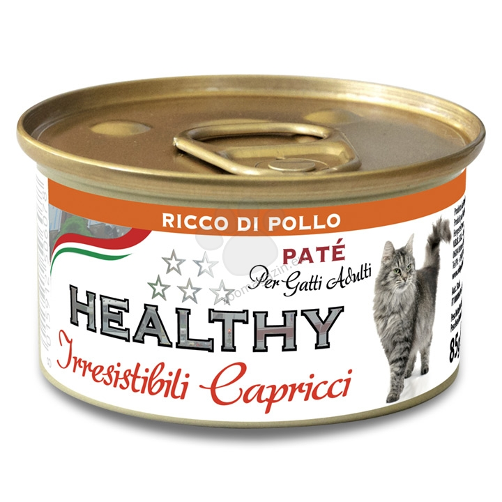 Healty Irresistibili Capricci Pate Rich in Chicken - с пилешко месо 85 гр.