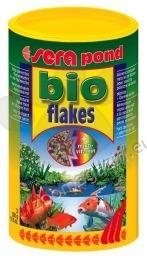Sera - Pond Bio Flakes -  за златни рибки, шарани и други езерни риби 1000 мл.