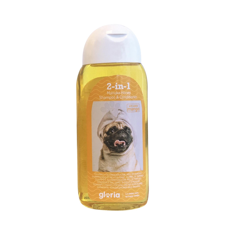 Gloria 2 in 1 Manuka Honey Shampoo & Conditioner - шампоан с балсам, с мед от манука, 200 мл