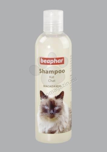 Beaphar macadamia cat - подхранващ шампоан 250 грама
