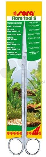 Sera flore tools S - cтоманени ножици за подрязване и оформяне на растения 26.2 см.