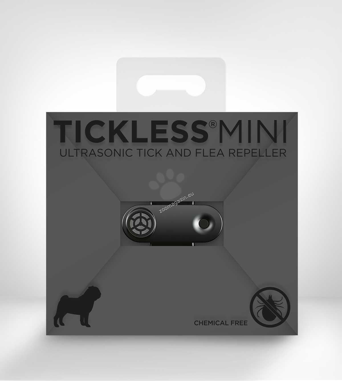 TickLess Ultrasonic Mini Dog - електронен уред за предпазване от бълхи и кърлежи на домашните любимци с USB зареждане / бял, черен, розов, златист, син, тъмно розово /