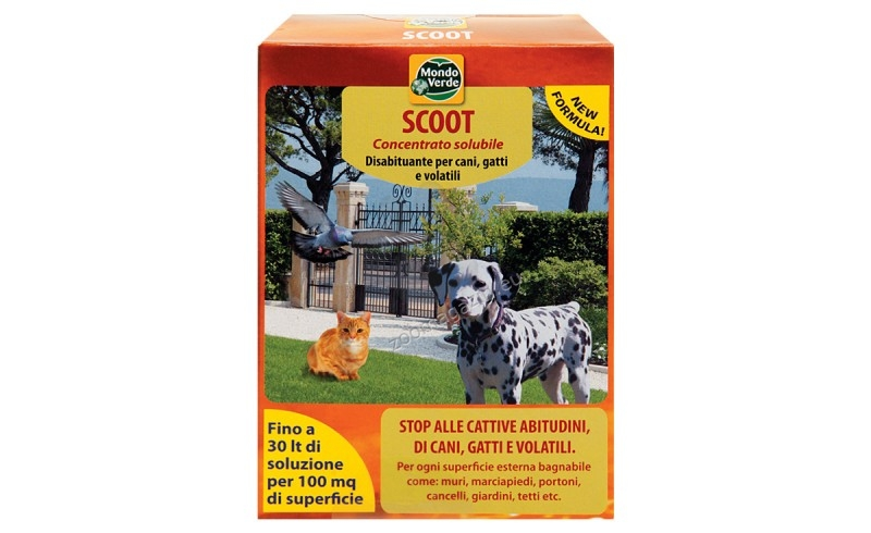 Scoot - репелент за птици, кучета и котки 150 гр.
