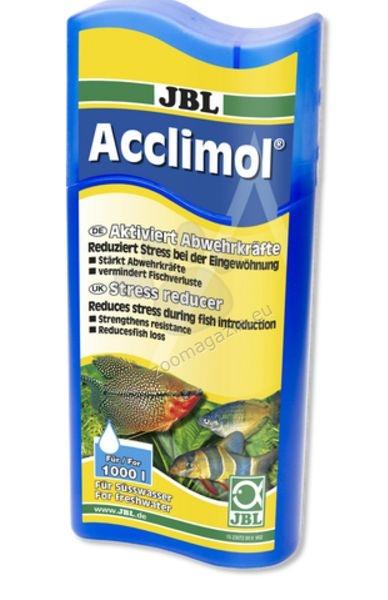 JBL Acclimol - Намалява стреса и проблемите при климатизация на аквариумни риби 100 мл.