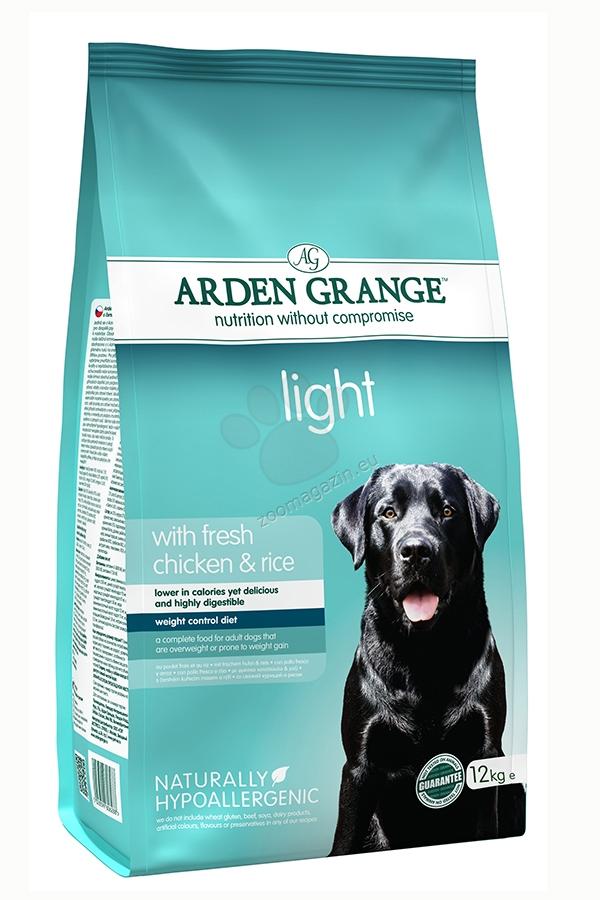 Arden Grange - Adult Light Chicken & Rice - с прясно пилешко месо и ориз, за кучета с наднормено тегло 6 кг.
