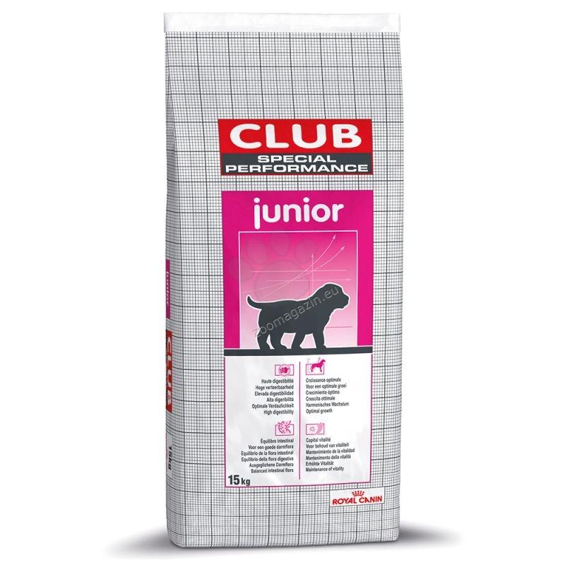 Royal Canin Special Club Performance Junior - самостоятелна храна за развъждане на кученца от малки и средно големи породи 15 кг.