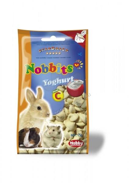Nobby Nobbits Yoghurt - дропс с йогурт за гризачи 75 гр.