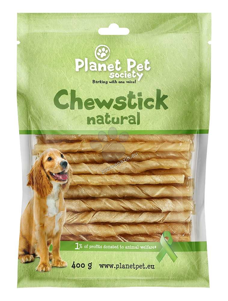Planet Pet Chew Stick - кожена солета  13 см., 80 броя, 400 грама
