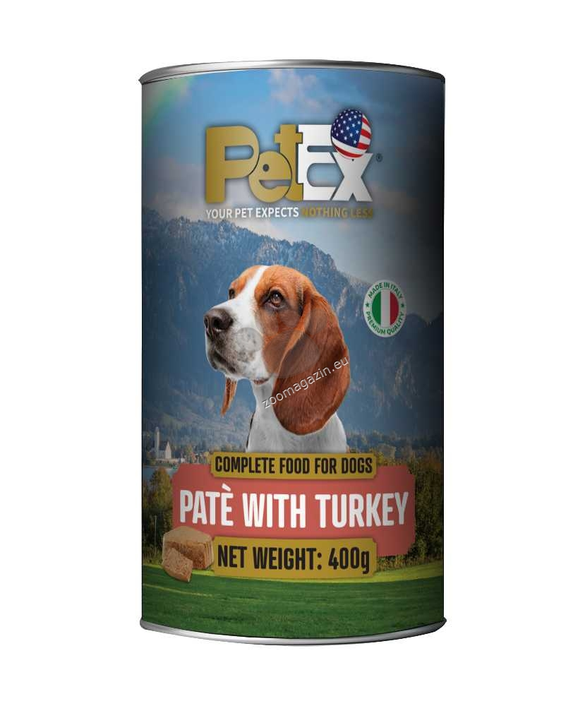 Petex Dog Pate Turkey - с пуешко месо, пастет 400 гр.