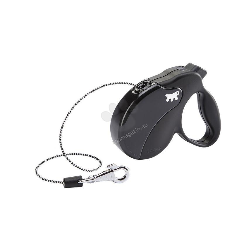 Ferplast - Amigo Cord Mini Black Black - 3 метра въже, за кучета с тегло до 12 кг.