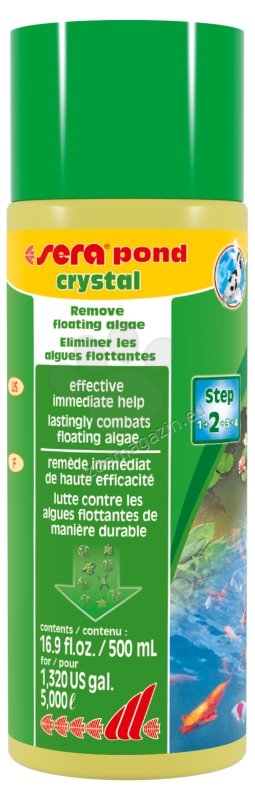 Sera - Koi cristal - за кристално чисто езерце 500 мл.