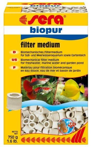 Sera - Biopur  - широко използван пълнеж за външни и вътрешни филтри  50 гр.