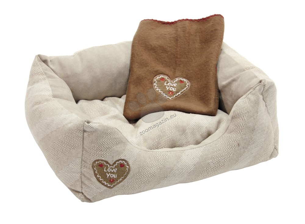 Kerbl Snugly Love you - легло с одеало 47 / 37 см.