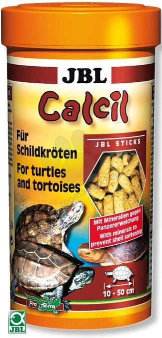 JBL Calcil - минерали за костенурки 250 ml.