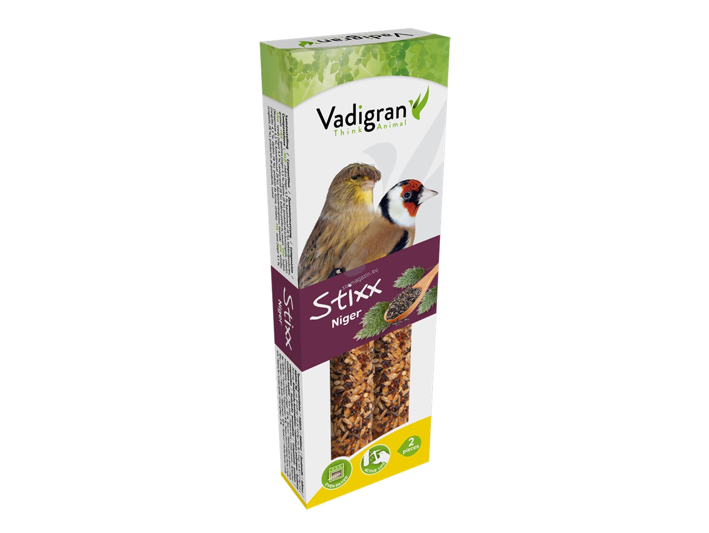 Vadigran Snack StixX eurofinch&canarie niger - крекер с нигер 85 гр., 2 броя