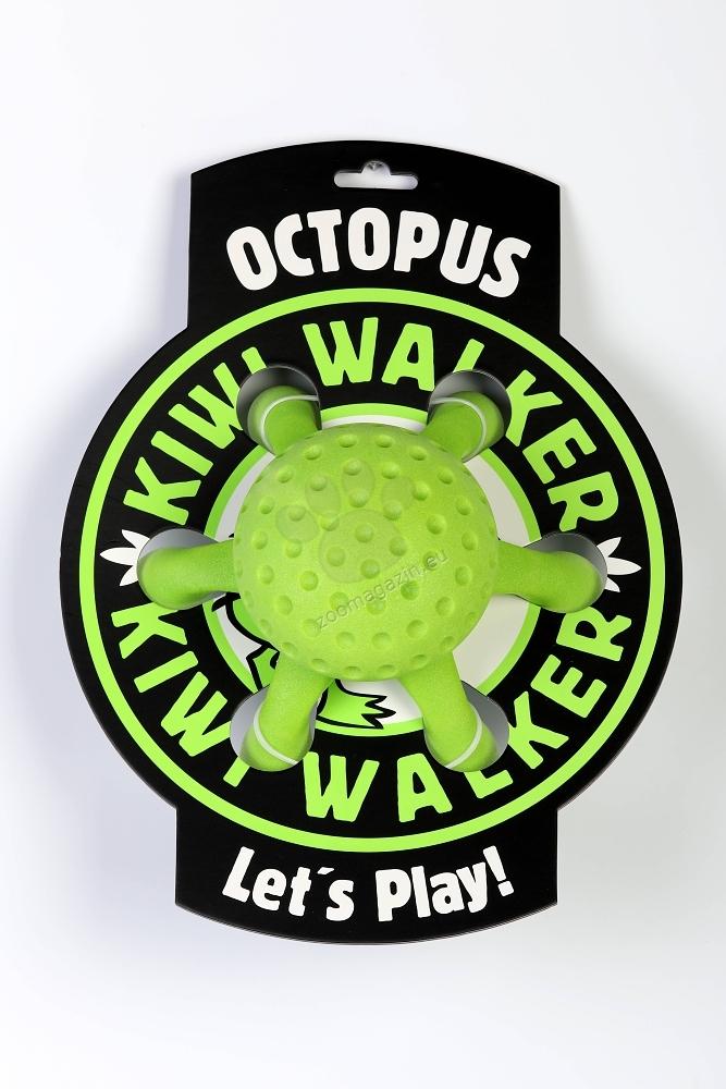 Kiwi Walker Octopus Toy Maxi - октопод 20 см. / жълто, зелено, синьо, розово /