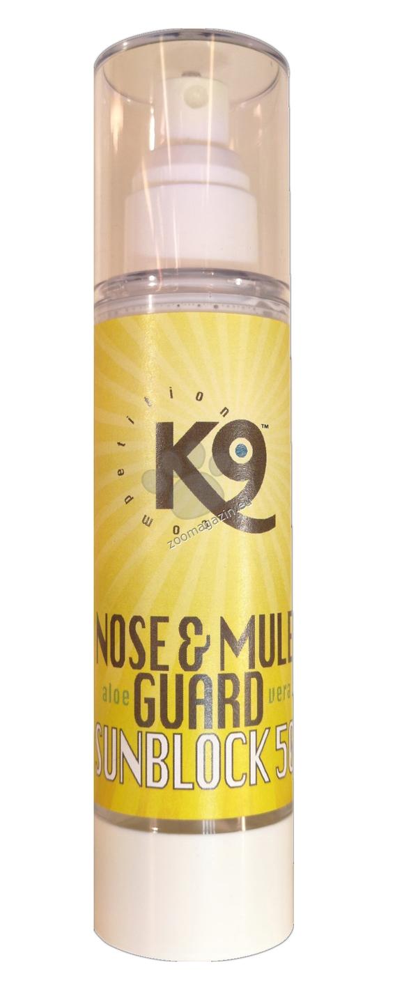 K9 Nose & Mule Guard - защитавате носа/муцуната и други чувствителни зони на кожата от вредните слънчеви лъчи 100 мл.
