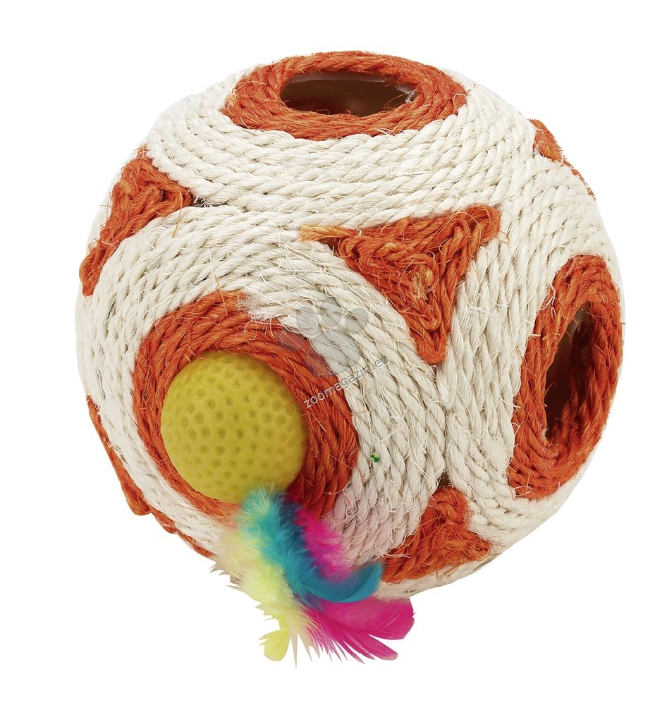 Kerbl Cube Sisal - топка сезал 12 см.