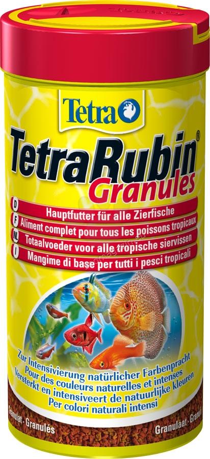 Tetra - TetraRubin Granules - универсална храна за всички видове тропически риби 250 гр.
