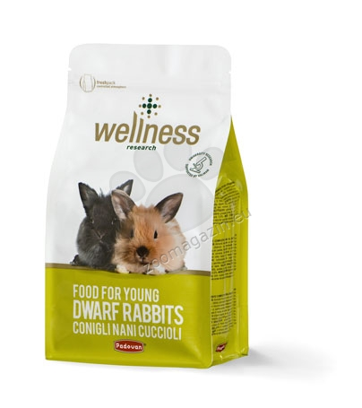 Padovan Wellness Junior - премиум храна за малки мини зайци 1 кг.