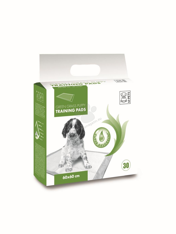M-Pets Puppy Training Pads - подложки с аромат на трева 60 / 60 см., 30 броя