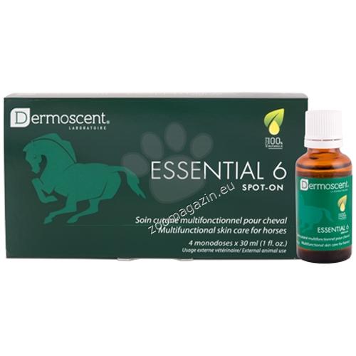 LDCA Essential 6 spot-on - многофункционален продукт с грижа за кожата при конете 4 пипети по 30 мл.