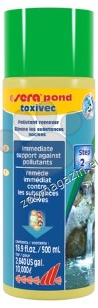 Sera - Pond Toxivec - премахва ихтиотоксичните амоний и нитрити 500 мл.