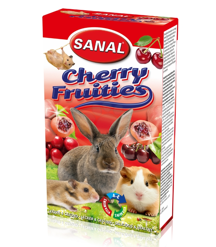 Sanal Rodent Cherry Fruities - лакомство с череши 45 гр.
