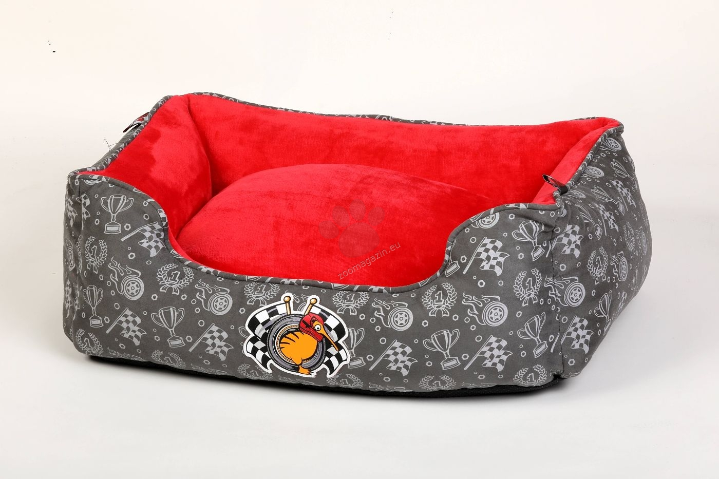 Kiwi Walker Bed Border Racer/Sailor M - ортопедично легло с мемори пяна 65 / 45 / 22 см. / червен, син /