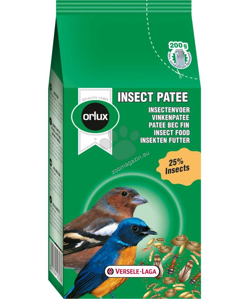 Versele Laga - Gold Patee Insect Patee - пълноценна храна за насекомоядни птици 200 гр.