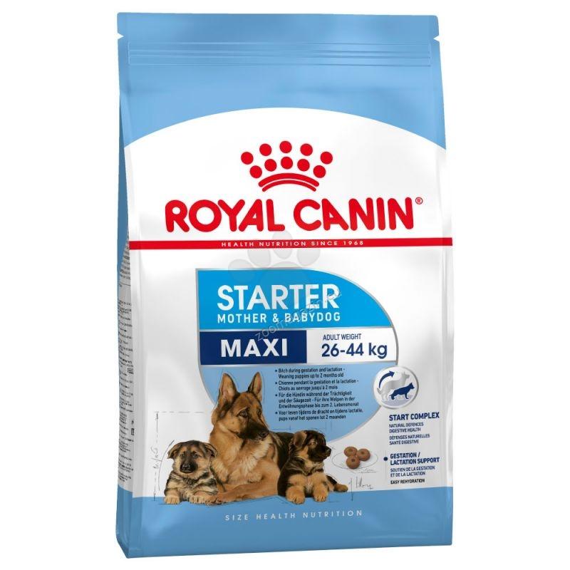 Royal Canin Maxi Starter - за кучки от края на бременността и по време на кърменето и отбити кученца до 2 месеца 15 кг.