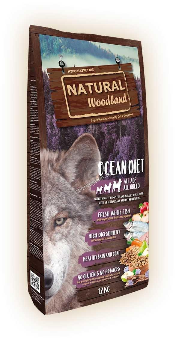 Natural Woodland Ocean Diet - с прясно месо от океанска риба 12 кг.