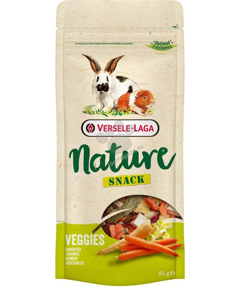 Versele Laga - Nature Snack Veggies - вкусно лакомство със зеленчуци 85 гр.
