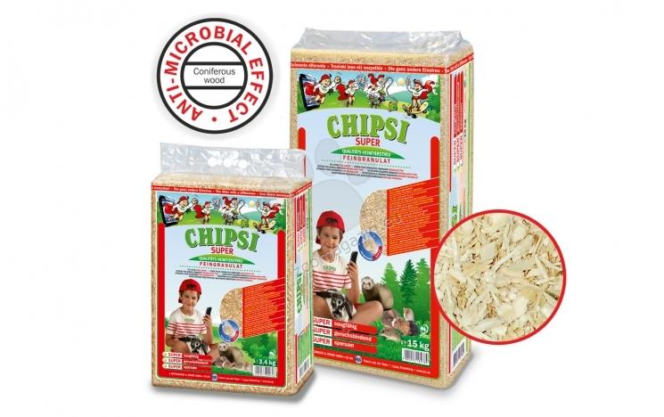 JRS Chipsi Super - супер абсорбиращ талаш с натурален аромат, 3,4 кг