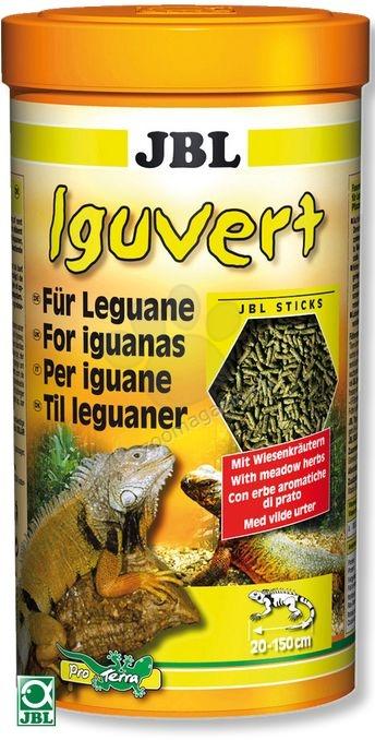 JBL Iguvert - пълноценна храна за игуани 1000 мл.