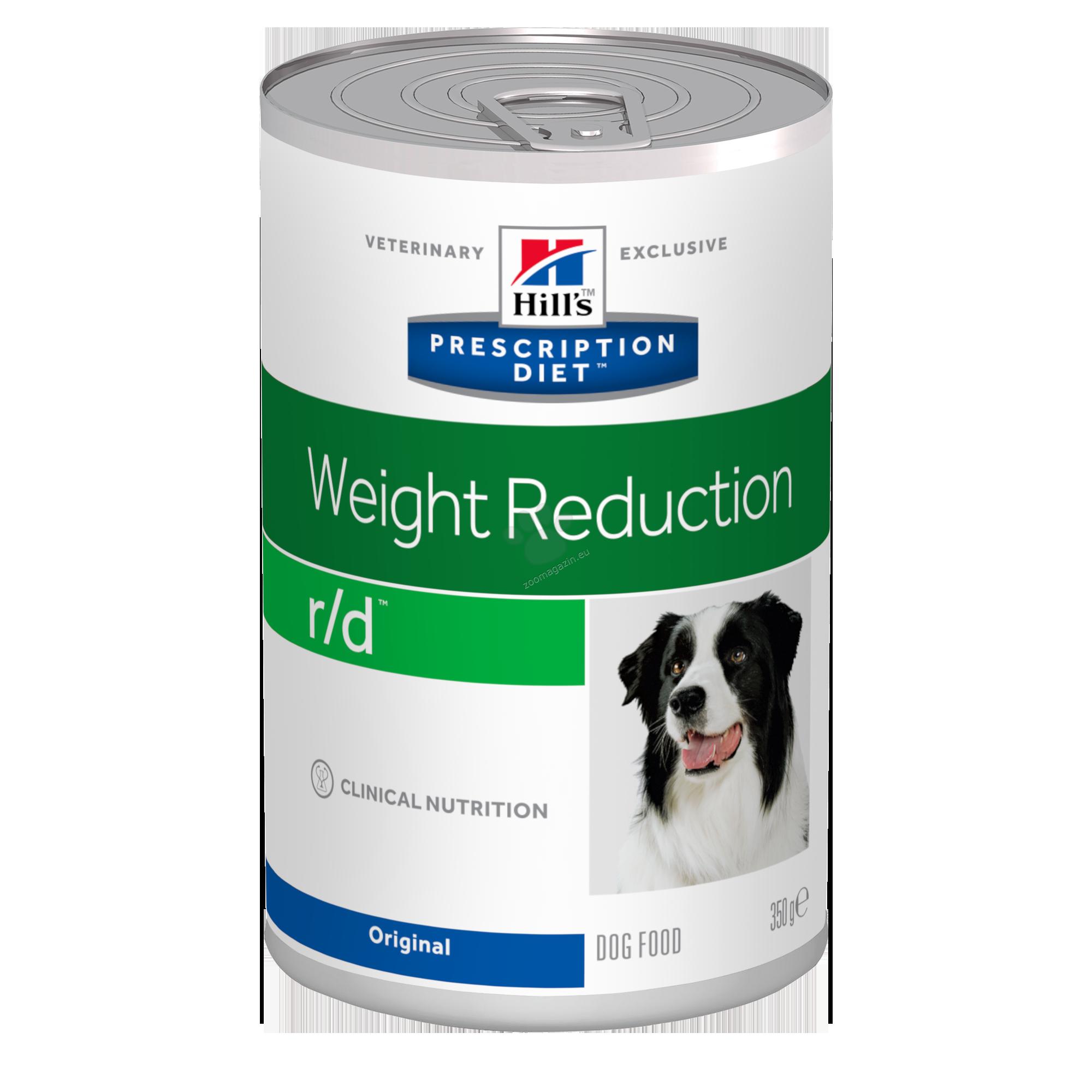 Hills Prescription Diet r/d Canine - диета за кучета с диабет, наднормено тегло и колит или запек 350 гр.