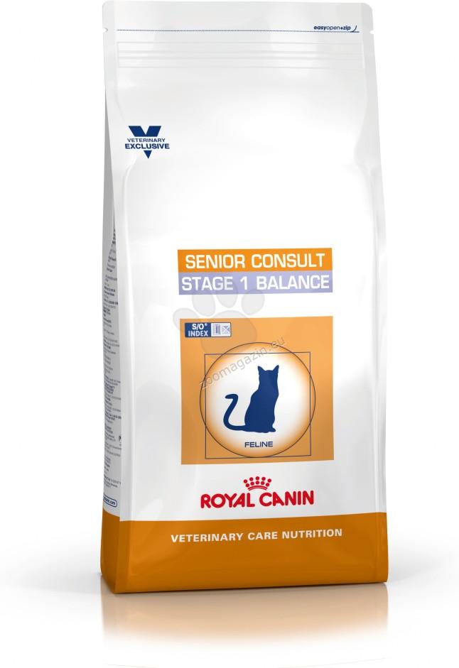 Royal Canin Senior Consult Stage 1 Balance - за котки в зряла възраст над 7 годишна възраст 1.5 кг.