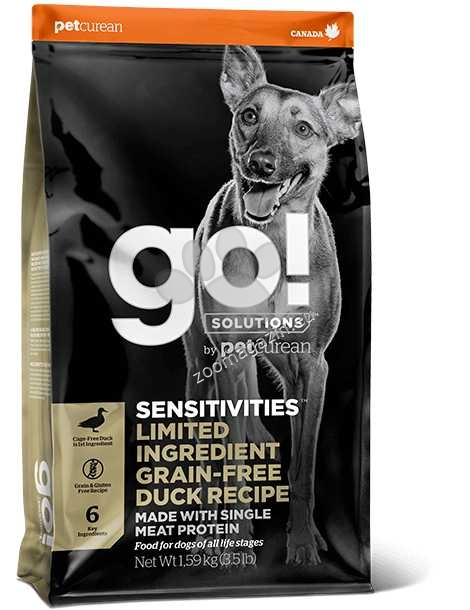 Go Solutions Sensitivities Limited Ingredient Grain Free Duck Recipe - лимитирана серия с патешко месо 10 кг.